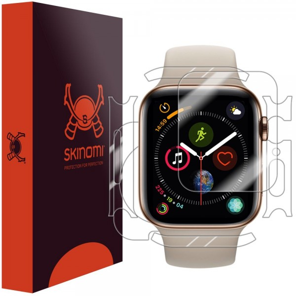 Skinomi - Apple Watch Series 5 (44 mm) Displayschutzfolie Full Body