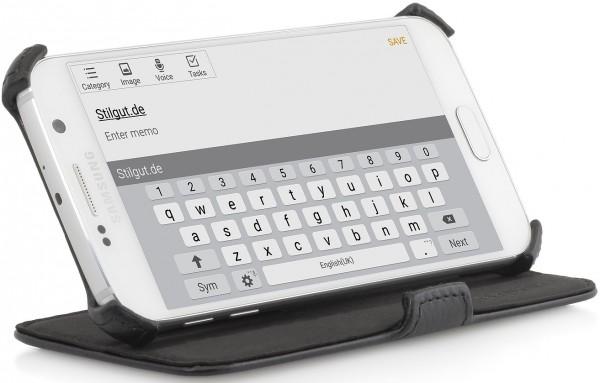 """StilGut - Handyhülle für Galaxy S6 """"UltraSlim"""" mit Standfunktion"""