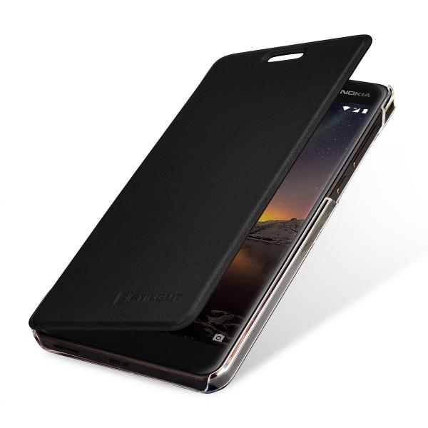 StilGut - Nokia 6.1 Book Type NFC/RFID Blocking Hülle
