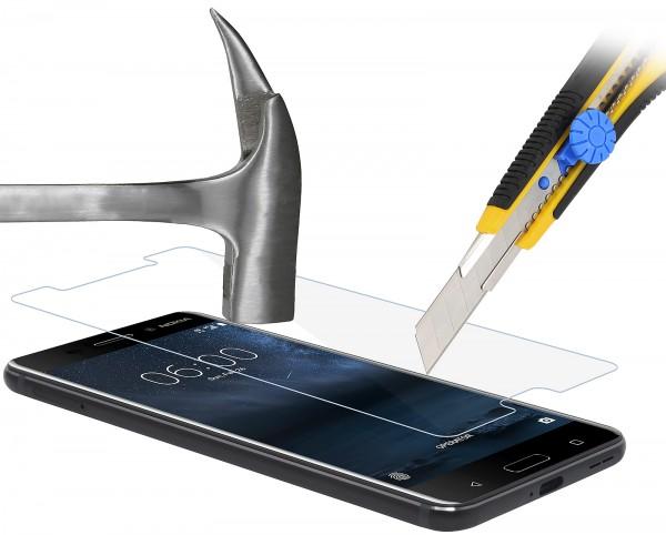 StilGut - Panzerglas Nokia 6 (2er Pack)