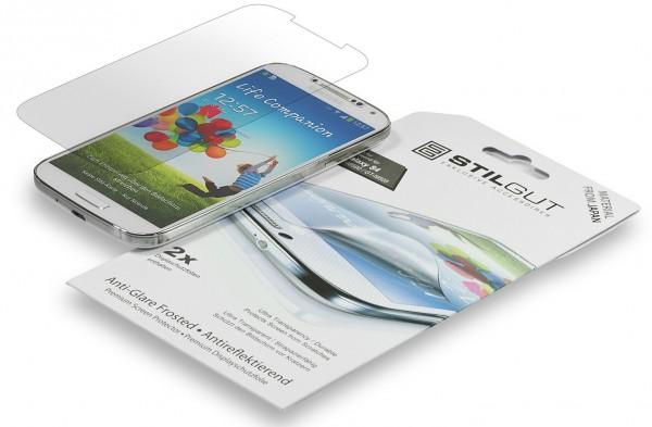 StilGut - Displayschutzfolie für Galaxy S4 i9500 & 9505 (2er Pack)