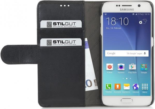 """StilGut - Handyhülle für Galaxy S6 """"Talis"""" mit Lasche"""
