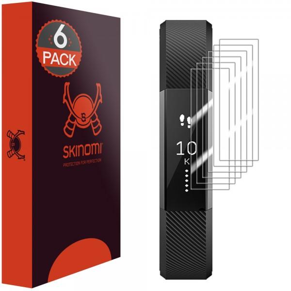Skinomi - Fitbit Alta Displayschutzfolie (6er Pack)