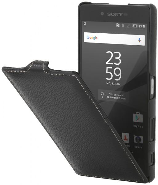 StilGut - Xperia Z5 Premium Hülle UltraSlim aus Leder