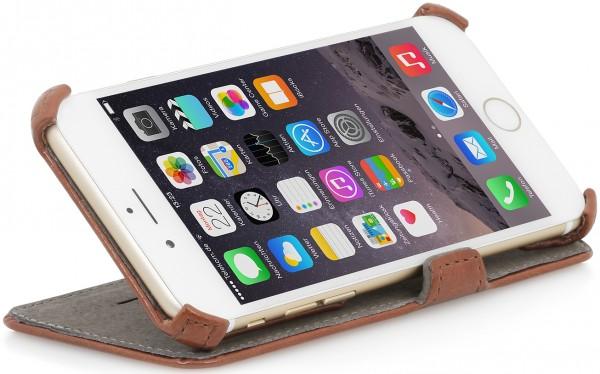 """StilGut - Handyhülle für iPhone 6 """"UltraSlim"""" V2 mit Standfunktion"""