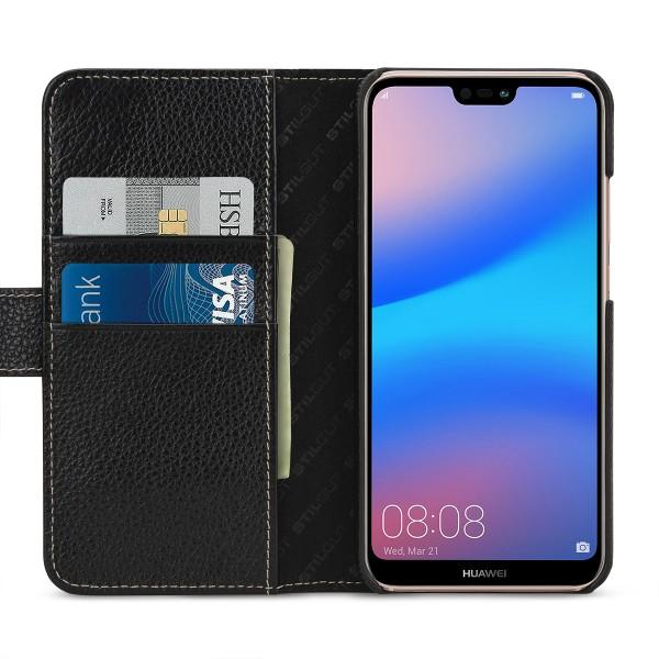 StilGut - Huawei P20 lite Hülle Talis mit Kreditkartenfach