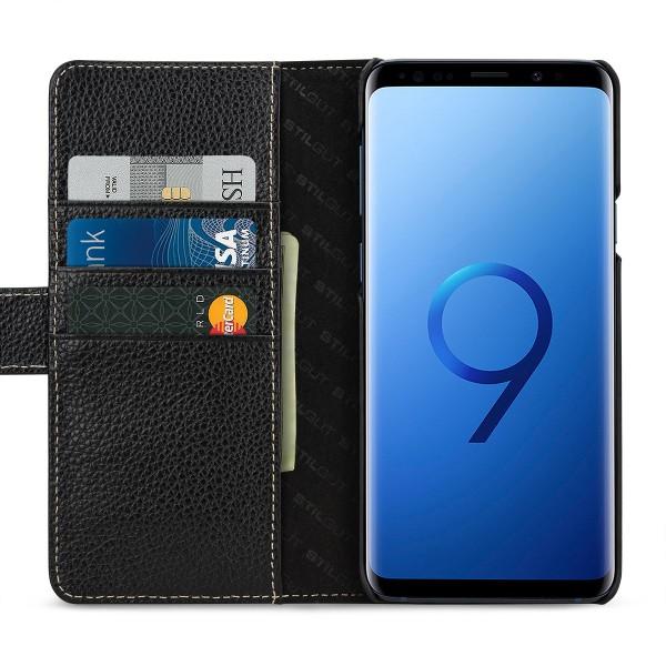 StilGut - Samsung Galaxy S9+ Hülle Talis mit Kreditkartenfach