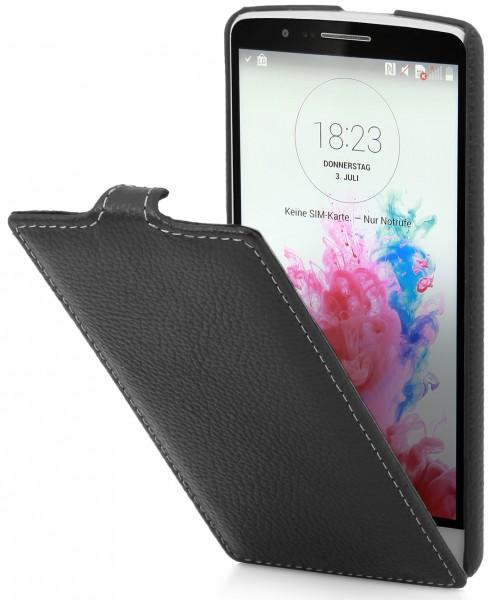 StilGut - UltraSlim Case für LG G3s aus Leder