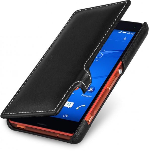 "StilGut - Handyhülle für Sony Xperia Z3 Compact ""Book Type"" mit Clip"
