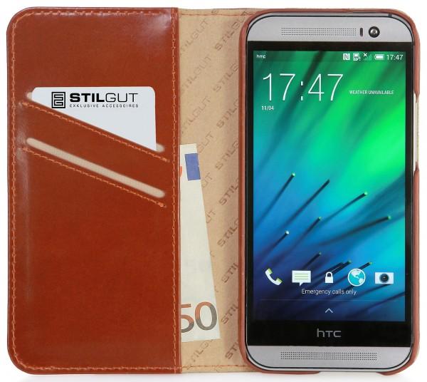 "StilGut - Handyhülle für HTC One M8 / M8s ""Talis"""