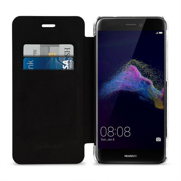 StilGut - Huawei P8 lite 2017 Book Type NFC/RFID Blocking Hülle