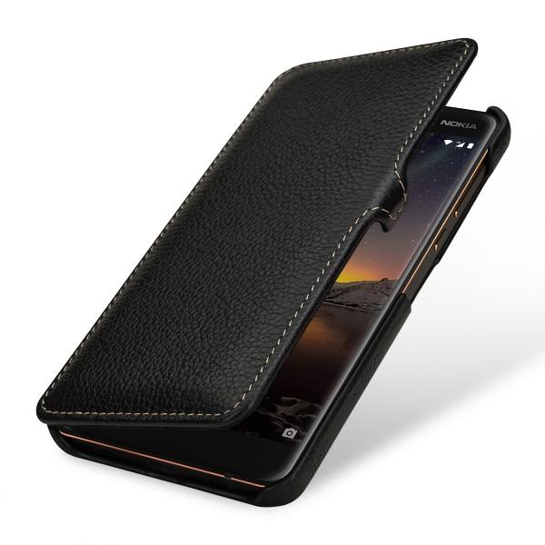 StilGut - Nokia 6.1 Tasche Book Type mit Clip