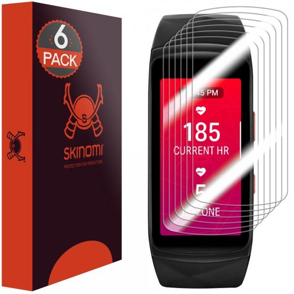 Skinomi - Samsung Gear Fit2 Pro Displayschutzfolie (6er Pack)