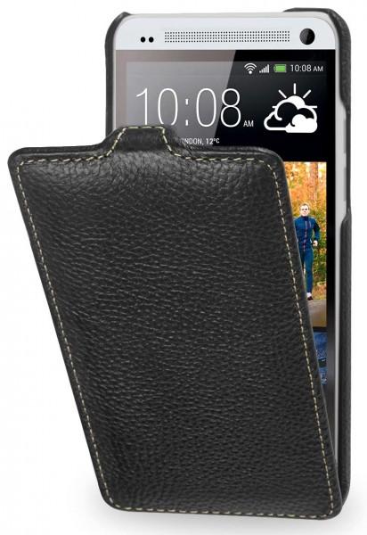 StilGut - UltraSlim Case für HTC One mini aus Leder