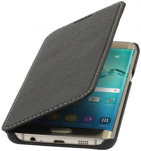 StilGut - Handyhülle für Galaxy S6 edge+ Book Type ohne Clip