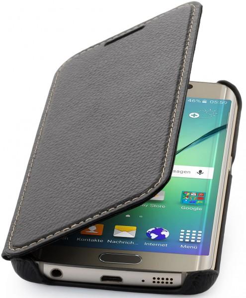 """StilGut - Handyhülle für Galaxy S6 edge """"Book Type"""" ohne Clip"""
