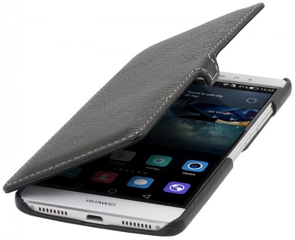 StilGut - Huawei Mate S Tasche Book Type aus Leder mit Clip