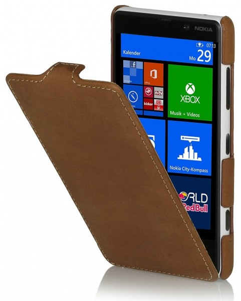 StilGut - UltraSlim Case für Nokia Lumia 820 Old Style