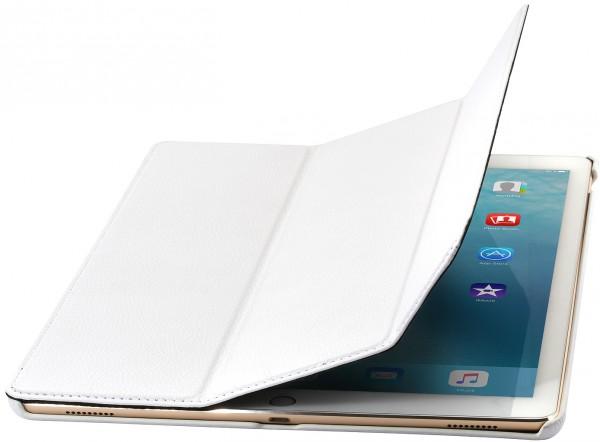 """StilGut - iPad Pro 12.9"""" Hülle Couverture aus Leder"""