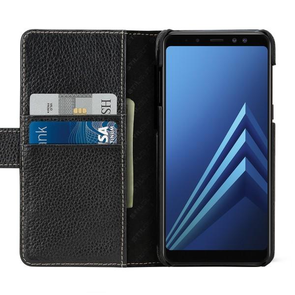 StilGut - Samsung Galaxy A8 (2018) Hülle Talis mit Kreditkartenfach