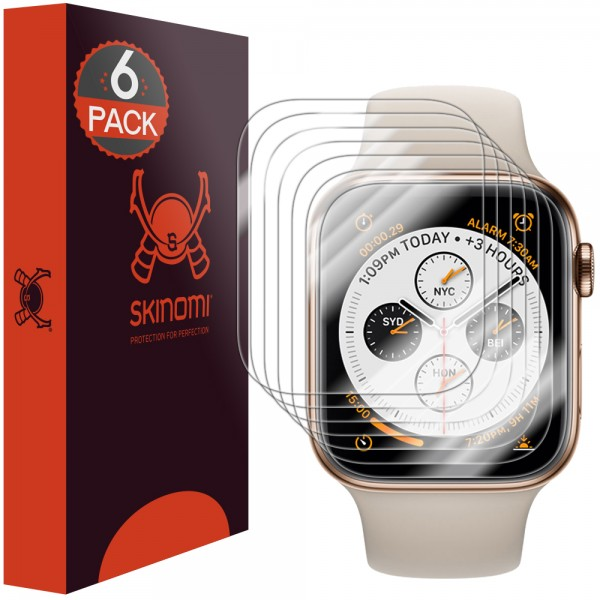 Skinomi - Apple Watch Series 4 (44 mm) Displayschutzfolie Edge to Edge