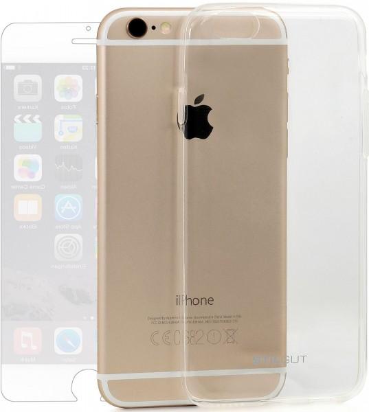 StilGut - Ghost, Schutzhülle inkl. Schutzfolie für iPhone 6 Plus