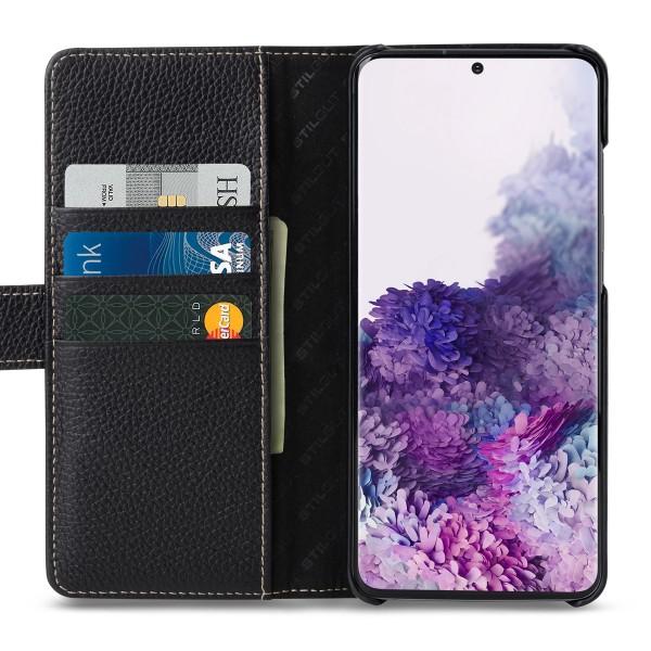StilGut - Samsung Galaxy S20 Plus Flip Cover Talis mit Kartenfach