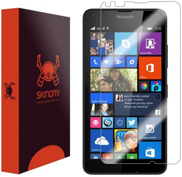 Skinomi – Displayschutzfolie für Lumia 640 TechSkin