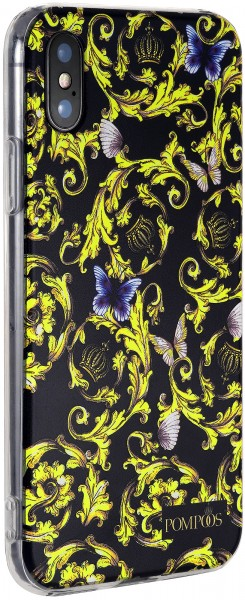 POMPÖÖS by StilGut - iPhone XS Cover Royal - Design by HARALD GLÖÖCKLER