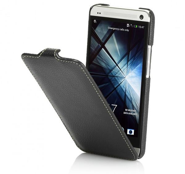 StilGut - UltraSlim Case für HTC One aus Leder