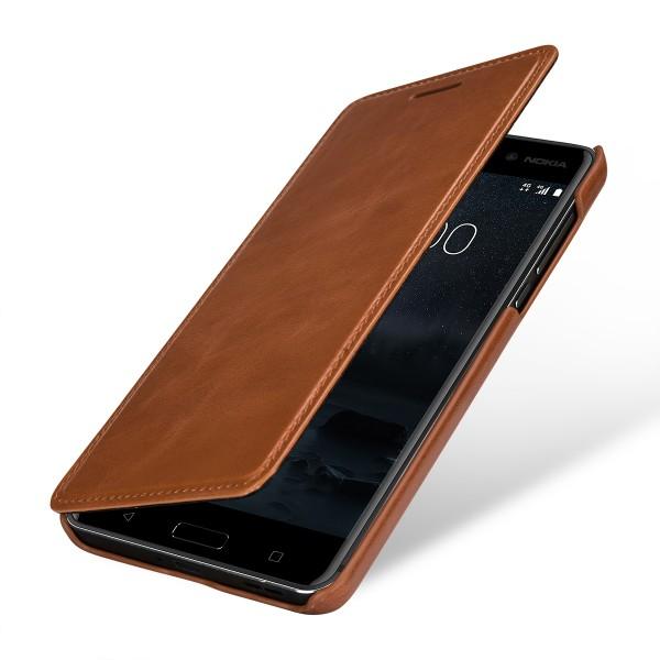 StilGut - Nokia 6 Case Book Type ohne Clip
