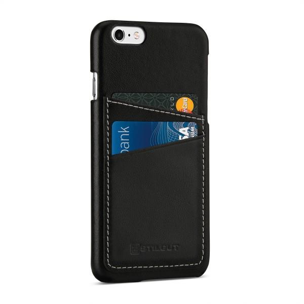 StilGut - iPhone 6s Cover aus Leder mit Kreditkartenfach