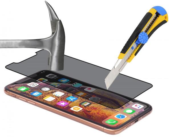 StilGut - iPhone X Privacy Panzerglas 3D Full Cover