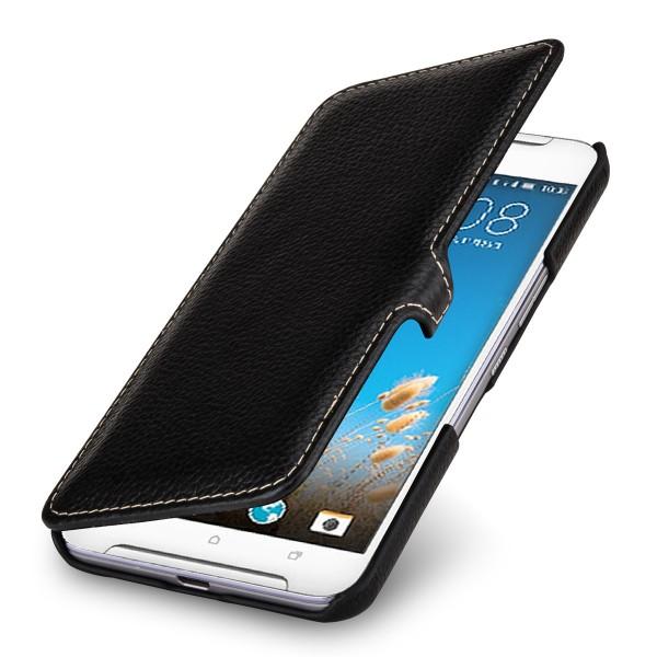 StilGut - HTC One X9 Tasche Book Type aus Leder mit Clip
