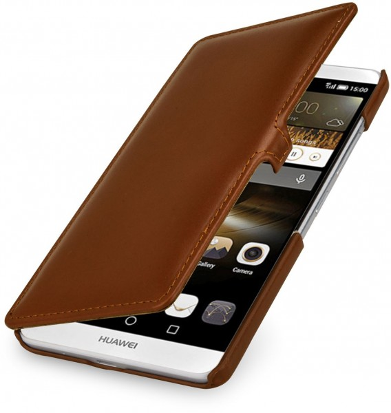 """StilGut - Handyhülle für Huawei Ascend Mate 7 """"Book Type """" mit Clip"""