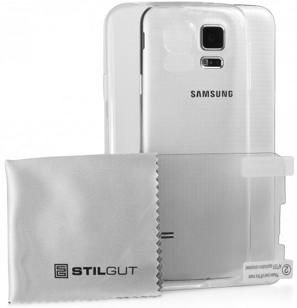 StilGut - Ghost, transparente Schutzhülle für Samsung Galaxy S5