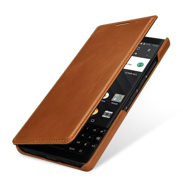 StilGut - BlackBerry KEY2 Case Book Type ohne Clip