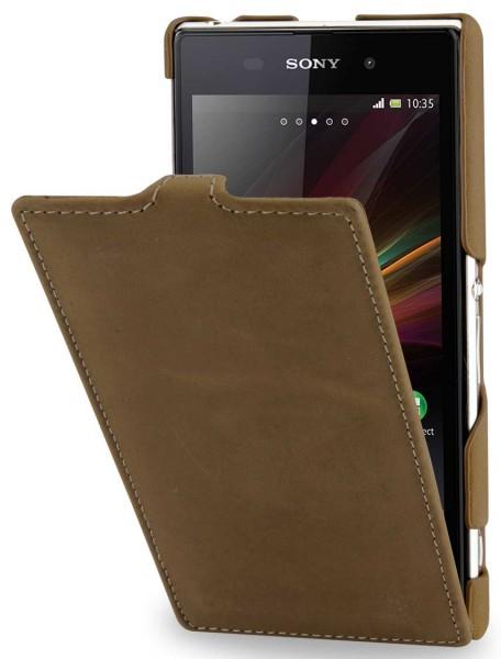StilGut - UltraSlim Case für Sony Xperia Z1 Old Style