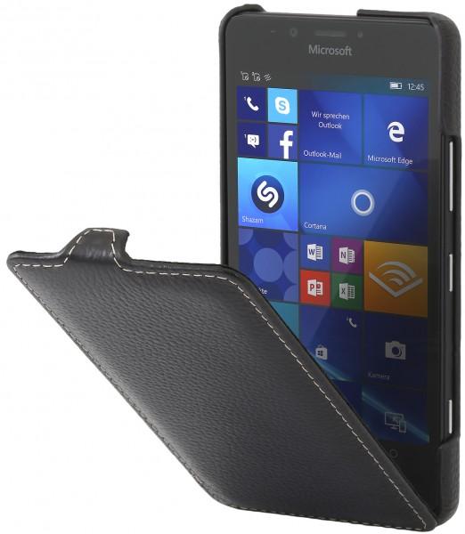 StilGut - Lumia 950 Hülle UltraSlim aus Leder