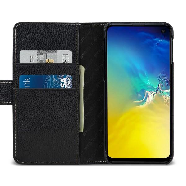 StilGut - Samsung Galaxy S10e Hülle Talis mit Kartenfach