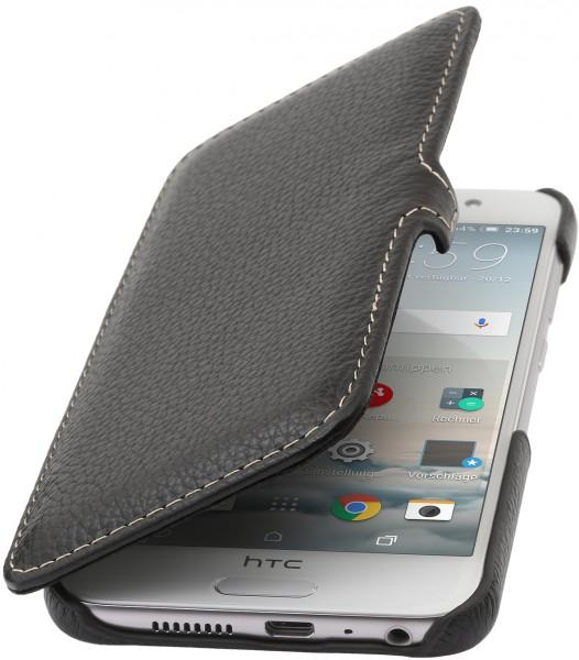 StilGut - HTC One A9 Tasche Book Type aus Leder mit Clip