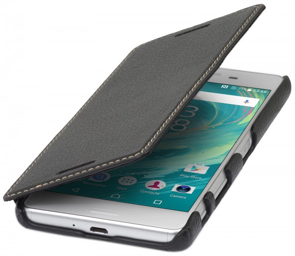 StilGut - Sony Xperia X Performance Case Book Type ohne Clip