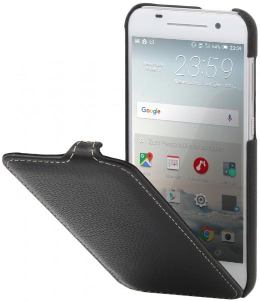StilGut - HTC One A9 Hülle UltraSlim aus Leder