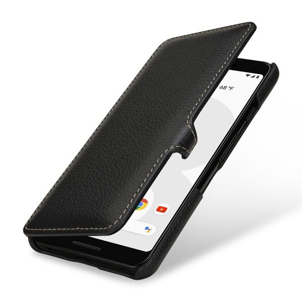 StilGut - Google Pixel 3 Tasche Book Type mit Clip