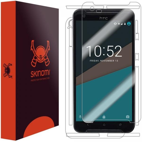 Skinomi - Displayschutzfolie HTC One X9 Vorder- und Rückseite