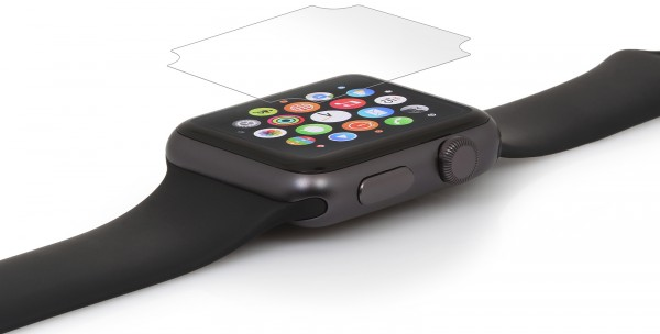 StilGut - Displayschutzfolie für Apple Watch 42 mm (2er-Pack)