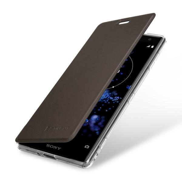 StilGut - Sony Xperia XZ2 Book Type NFC/RFID Blocking Hülle