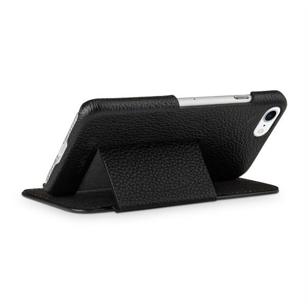 StilGut - iPhone 8 Tasche Book Type mit Standfunktion