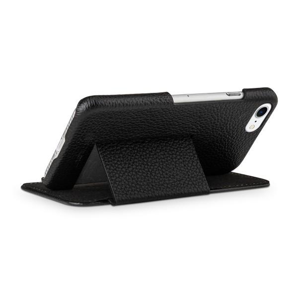 StilGut - iPhone 8 Tasche Book Type mit Standfunktion