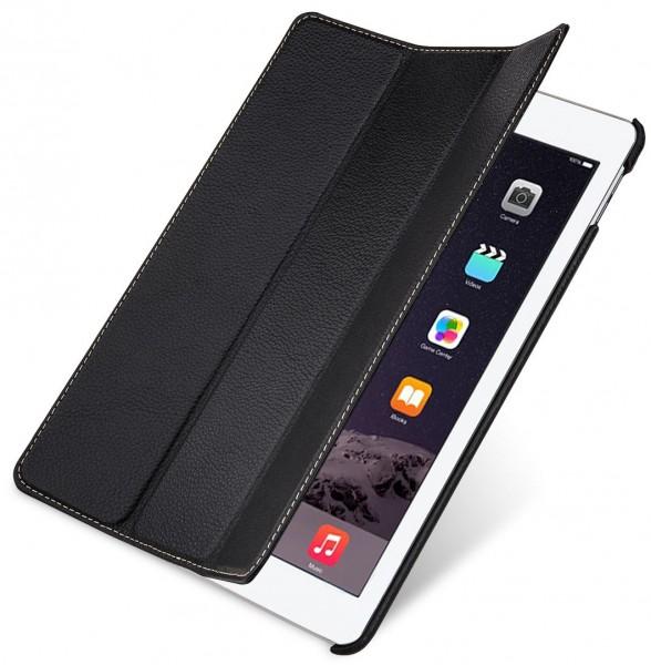 """StilGut - Hülle für iPad Air 2 """"Couverture"""" aus Leder"""